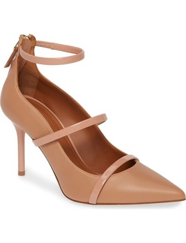 Robyn Ankle Strap Pump by Malone Souliers