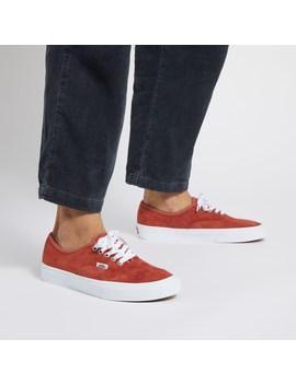 Men's Authentic Sneakers In Burnt Orange by Vans