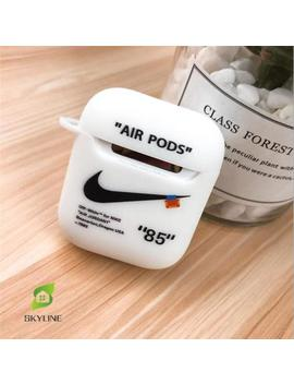 Nike Off White 3 D Funny Air Pods Silicone Case Protective Cover Skin For Air Pod Charging Case by Etsy