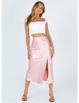 Sanna Midi Skirt by Princess Polly
