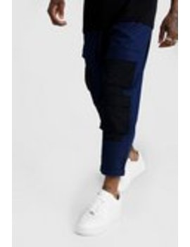 Panel Detail Cargo Trouser by Boohoo Man