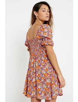 Faithfull The Brand Iris Floral Mini Dress by Faithfull The Brand