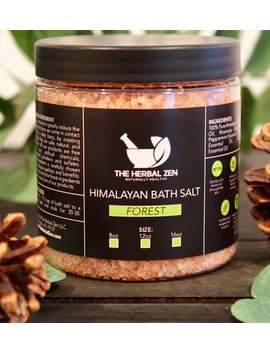 Forest Blend Bath Salts | Bath Salt | Self Care | Himalayan Bath Salt | Natural Bath Salts | Mineral Soak | Spa Gift Set | Natural Bath Soak by Etsy