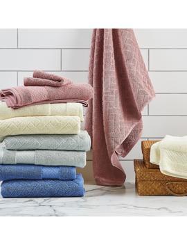Better Homes & Gardens Wicker Jacquard 6 Piece Bath Towel Set, Rivera by Better Homes & Gardens