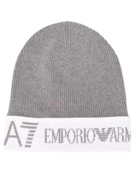 Logo Knit Beanie by Ea7 Emporio Armani
