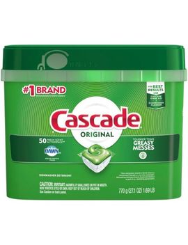Cascade Action Pacs Dishwasher Detergent, Fresh, 50 Count by Dollar General