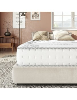 "Wayfair Sleep 10.5"" Firm Hybrid Mattress by Wayfair Sleep™"