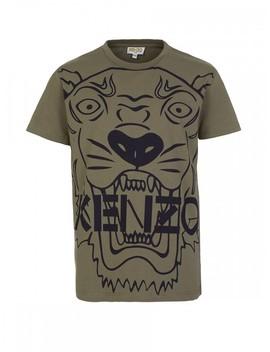 Kenzo Kids Green Tiger T Shirt by Kenzo Kids