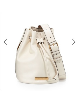 Marc By Marc Jacobs Off White Leather Bucket Bag by Marc By Marc Jacobs