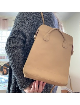 Wendy Paris Leather Backpack by Vintage