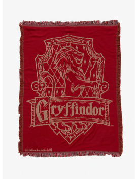 Harry Potter Gryffindor Tapestry Throw Blanket   Box Lunch Exclusive by Box Lunch