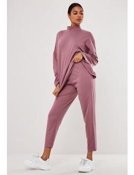 Jogging Slim Mauve by Missguided