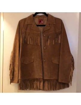 Fringe Suede Jacket by Vintage