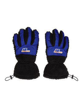 Black Puppy Gloves by Ader Error