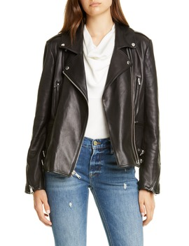 Pch Leather Moto Jacket by Frame