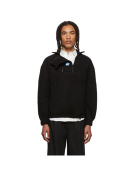Black Fleece Able Neck Sweatshirt by Ader Error