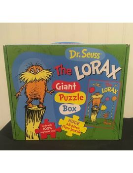The Lorax Giant Puzzle Box (Dr. Seuss) New! Free Shipping! by Ebay Seller