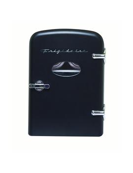 Frigidaire Portable Retro 6 Can Mini Fridge Efmis129 Black   Manufacturer Refurbished by Frigidaire