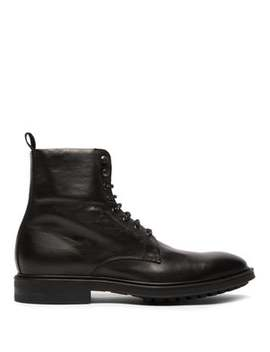 Arno Lace Up Leather Boots by Paul Smith