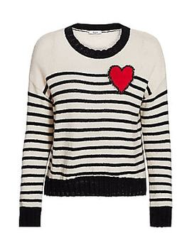 Perci Heart Sweater by Rails