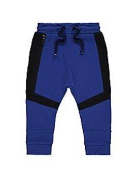 Blue Contrast Trim Jogging Bottoms by Asda