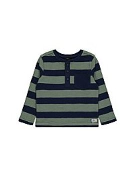 Khaki Waffle Knit Long Sleeve Top by Asda