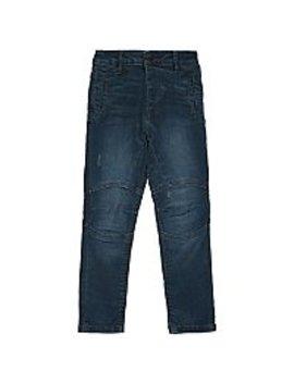 Blue Wash Distressed Denim Jeans by Asda