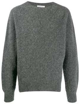 Boxy Crewneck Sweater by Ymc