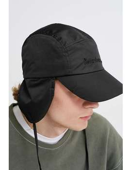 Iets Frans… Black Nylon Trapper Hat by Iets Frans...