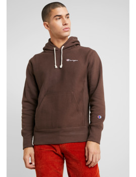 Small Script Hooded   Hoodie by Champion Reverse Weave