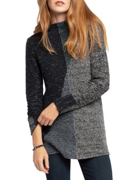 Chilled Angle Colorblock Sweater by Nic+Zoe