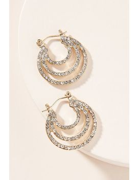 Nora Hoop Earrings by Anthropologie