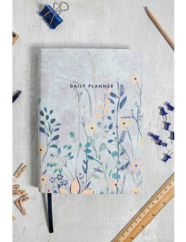 Central 23 Retro Floral Daily Planner by Urban Outfitters