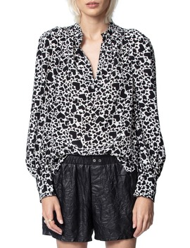 Titus Print Silk Blouse by Zadig & Voltaire