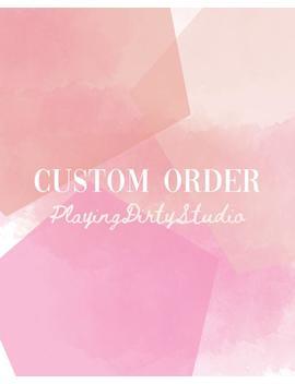 Custom Order For Lauren by Etsy