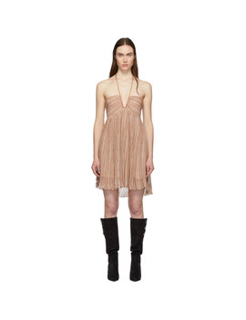 Gold Babs Dress by Isabel Marant