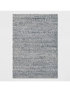 Chunky Knit Wool Woven Rug   Project 62™ by Shop Collections