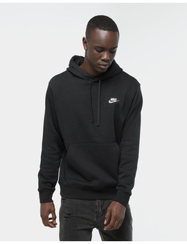 Nike Sportswear Club Fleece Pullover Hood Black by Nike