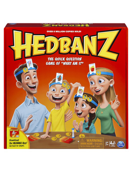 Hed Banz Family Quick Question Guessing Board Game by Spin Master Games
