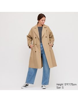 Trench Relax Femme by Uniqlo