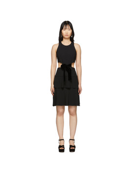 Black Cut Out Dress by Proenza Schouler