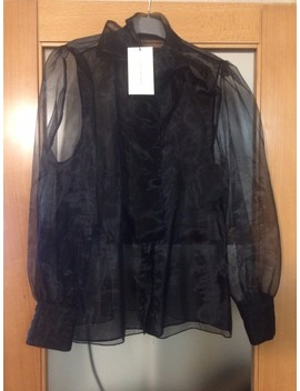 Magnifique Chemise Organza Zara Taille Xl by Vinted