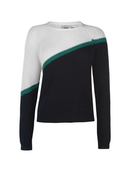 Hilde Block Colour Jumper by Only