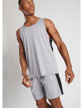 Gk Sport Lift Vest   Silver Grey by The Gym King