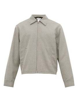Fiftyfive Houndstooth Harrington Jacket by Hope