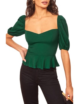 Aimee Top by Reformation