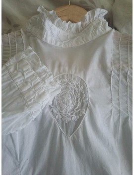 Blouse Victorienne Brodee by Coline