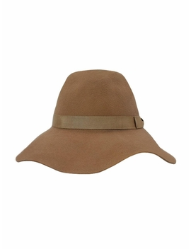 Move Felt Hat Beige by Evance