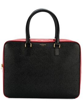 Stripe Business Tote by Thom Browne