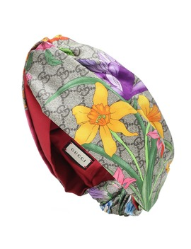Gg Flora Silk Headband by Gucci